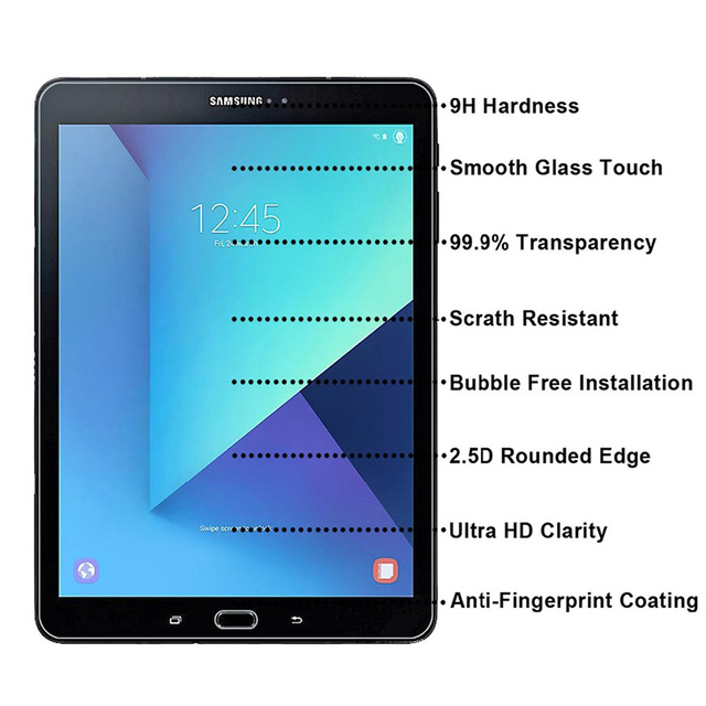 HD Tempered Glass For Samsung Galaxy Tab S3 T820 T825 9 7 inch Tablet Screen Protector