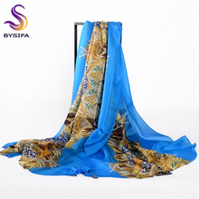 [BYSIFA] Women Pendant Silk Long Scarf Shawl Bufandas New Brand Autumn Winter 10