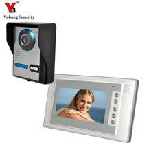 Yobang Security 7inch LCD Monitor700TVL Door Intercom Peehole Night Vision Home Building Video Door Camera Bell Phone Doorphone