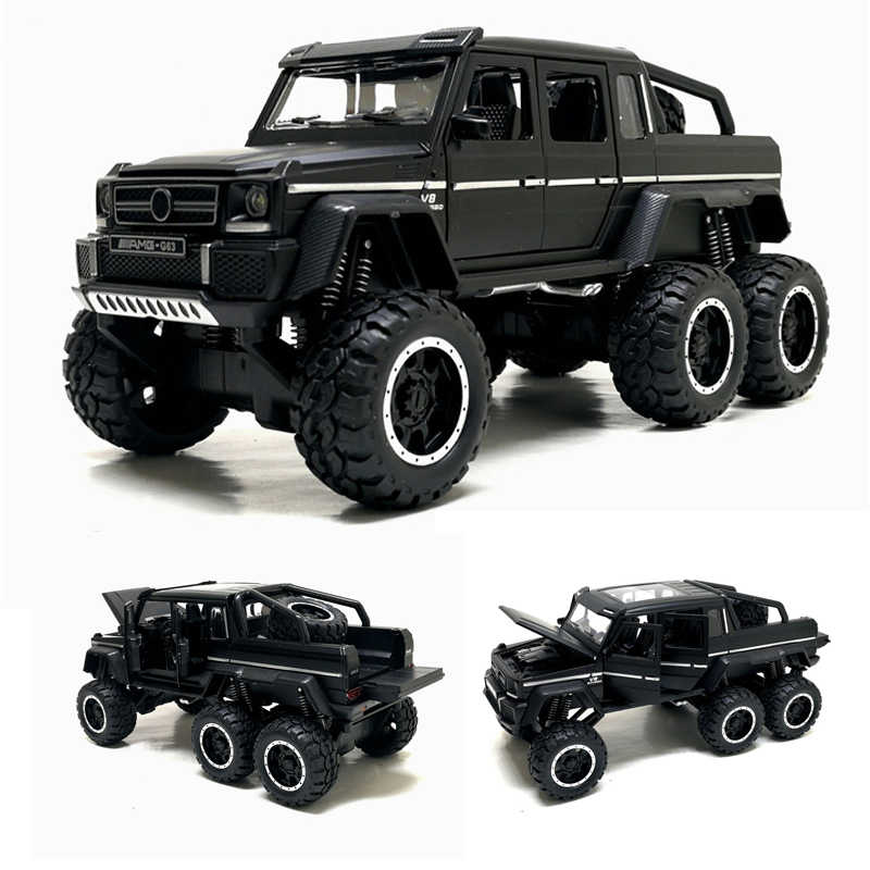 1:32 Toy Car G63 F150 JEEP Metal Toy Alloy Car Diecasts Toy Vehicles Car Model With light Sound Car Toys For Children Gifts