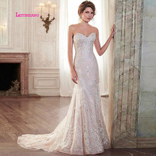 LEIYINXIANG Arriva Wedding Dress Vestido De Noiva Sereia