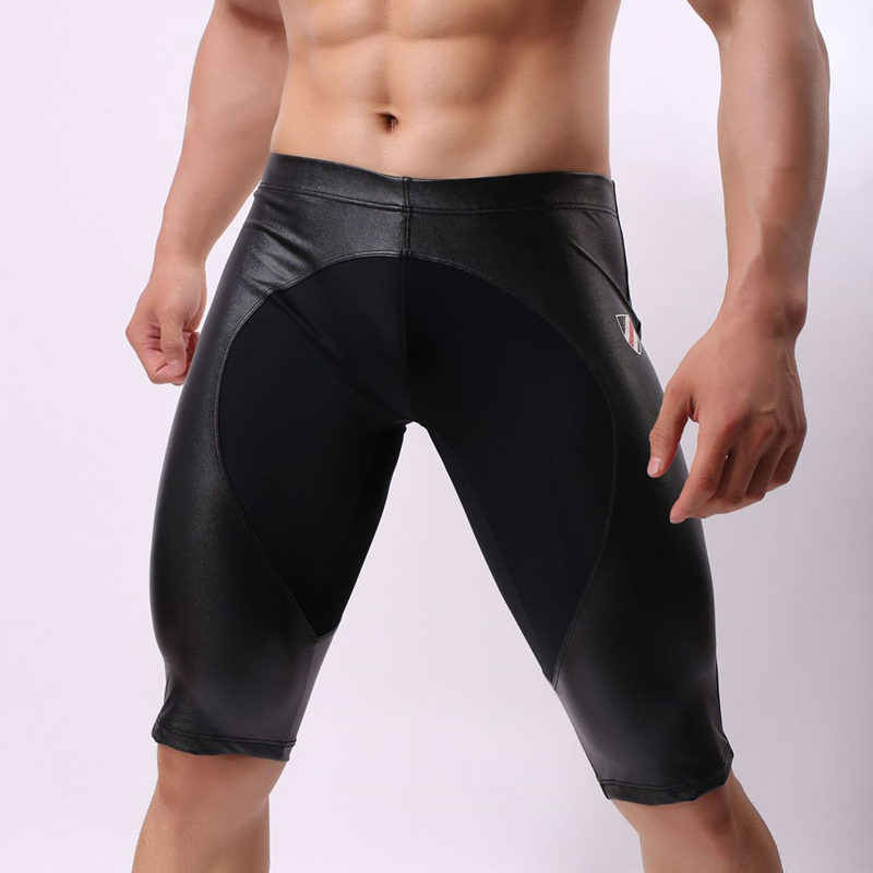 051d22ceae1 Multifunction Sports Shorts Men Swimwear Tight Swimming Shorts Sexy  Swimsuit Bathing Beach Fitness Running Swim Wear