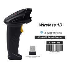 купить 1D&2D barcode scanner Supermarket Handhel 2D Code Scanner Bar Code Reader QR Code Reader PDF417 2.4G wireless & wired по цене 838.89 рублей