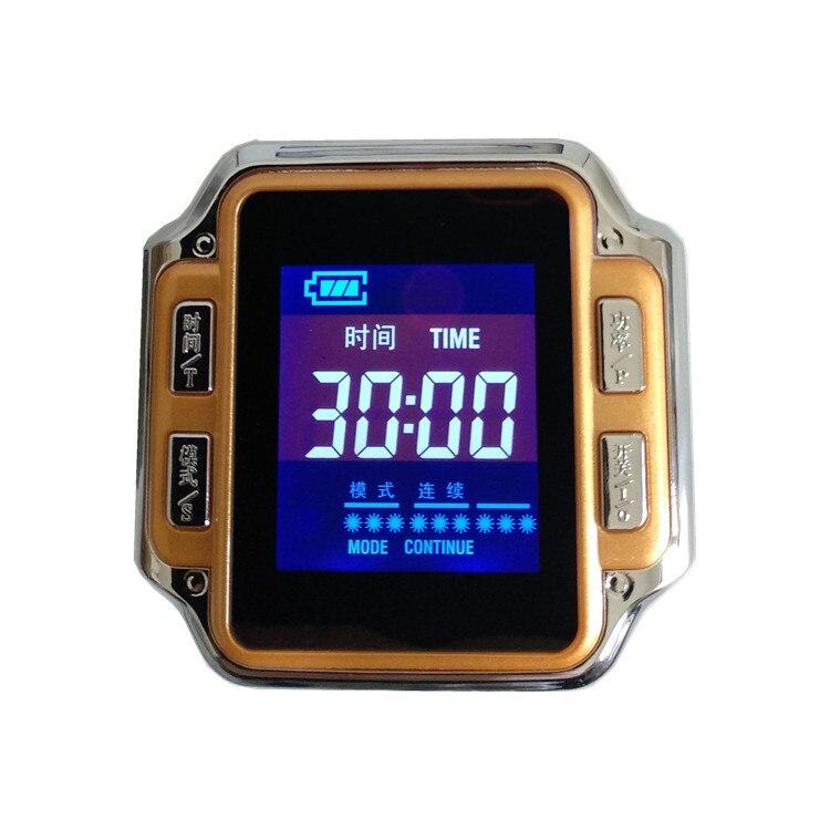 Nuovi prodotti 2016 prodotto innovativo CE dispositivo di pressione sanguigna orologio da polso 650nm laser A Basso livello-in Massaggi e relax da Bellezza e salute su  Gruppo 2