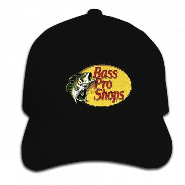 c51d7022 Print Custom Baseball Cap Hip Hop NWOT BASS PRO SHOPS Logo Fishing Hunting  Mens Hat Peaked cap