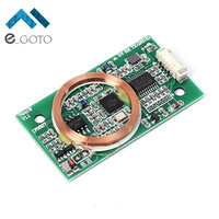 Dual Frequency Read Write RFID Wireless Module UART 13 56MHz 125KHz For IC ID Mifare Card