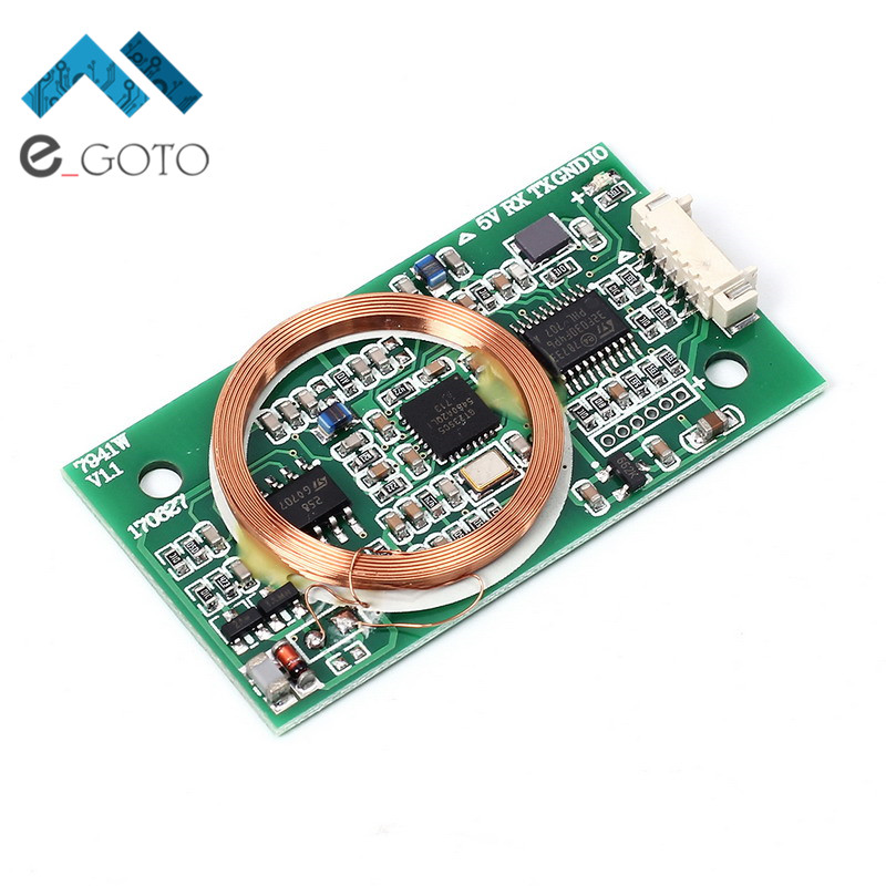Dual Frequency Read/Write RFID Wireless Module UART 13.56MHz 125KHz for IC/ID/Mifare Card