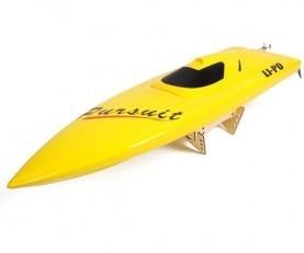 цена на 1106 Raider/Rocket Racing Electric Brushless RC Boat Fiberglass --yellow with 3660 1620KV Motor 125A ESC