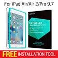 Протектор экрана для ipad air/air 2/Pro 9.7, ESR Triple Прочность Закаленного Стекла Фильм с Бесплатным Аппликатор для iPad 9.7 дюймов