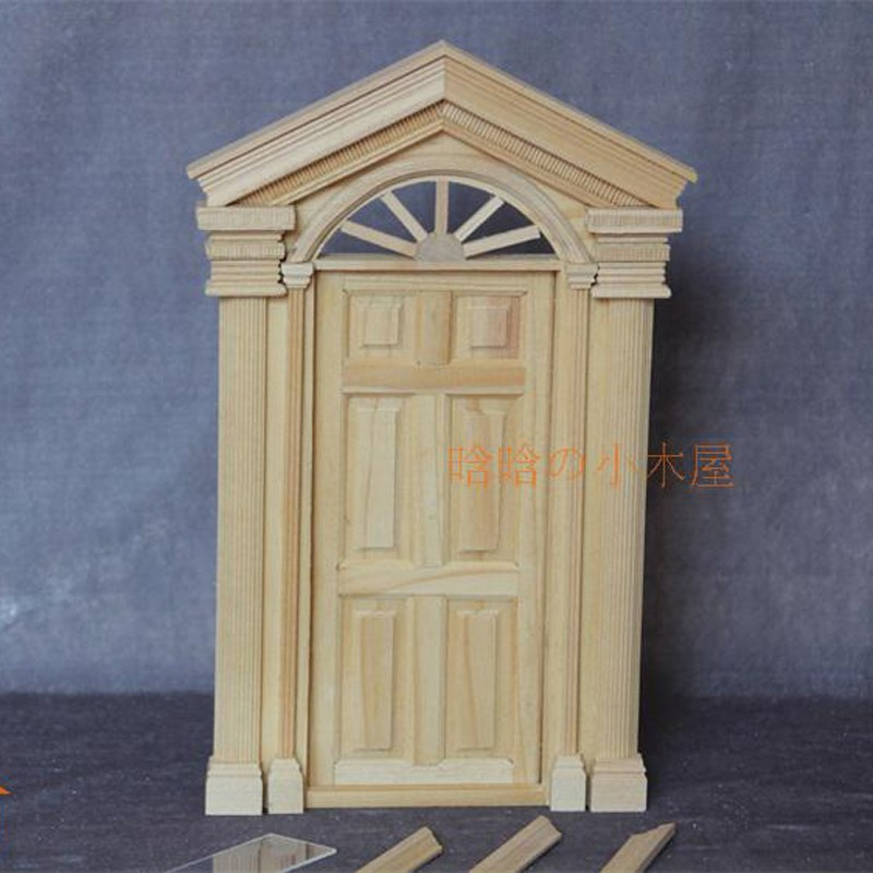 6pane door doll house 1