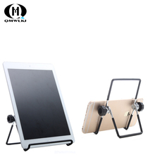 Universal Desk Tablet PC Stand Phone Hold Adjustable Foldable Aluminum for 78910 inch ipad Smart phone
