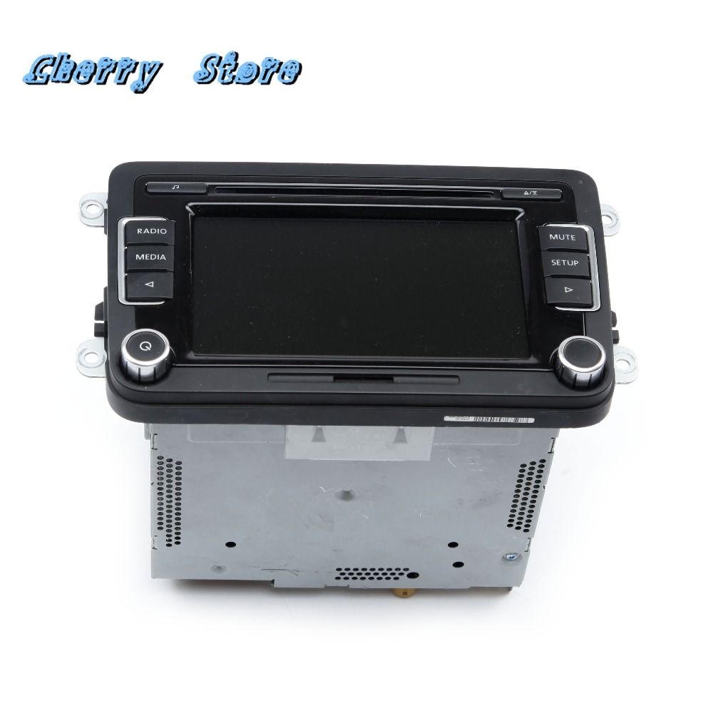NEW 5ND 035 190 A 6.5 Inch RCD510 Car Radio Support SD Card/USB/AUX Bluetooth For VW Golf Passat Tiguan Without Reversing Image