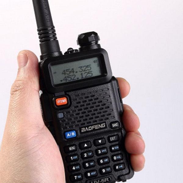 imágenes para En moscú conjunto ham radio Baofeng UV-5R walkie talkie de Radio Portátil estación de CB radioaficionado baofeng uv5r walkie talkie uv 5r