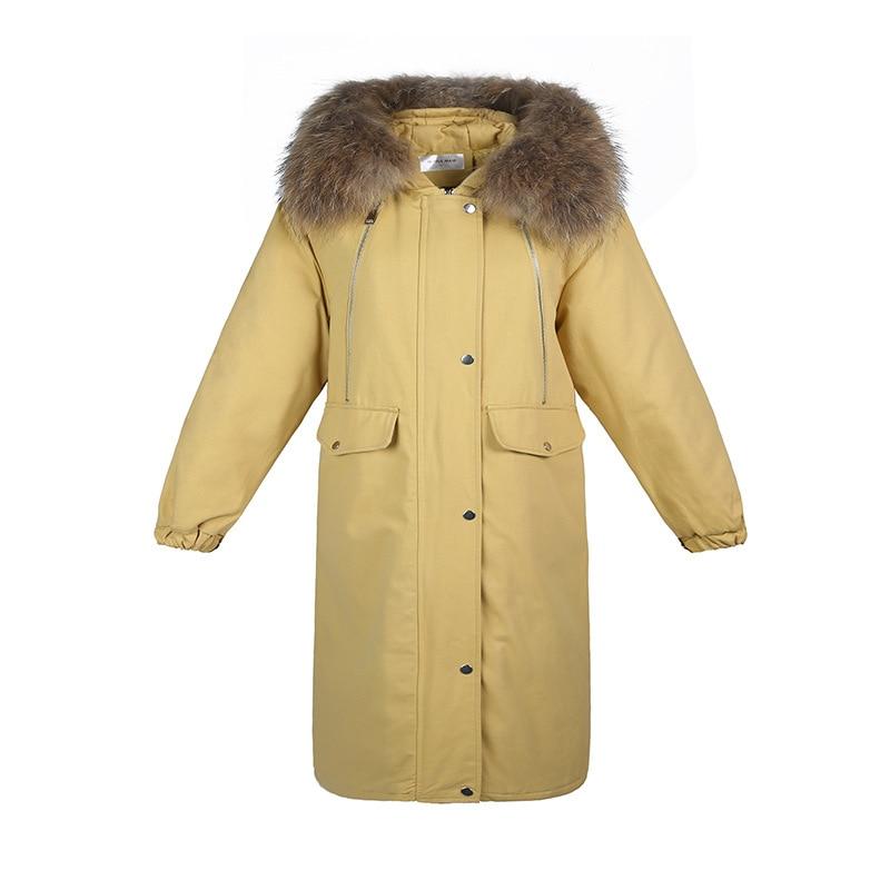 Capuchon 865 Pantalon Épaissie Le blanc Genou Femmes Rembourré Vêtements Noir Pour gris À Coton Mode Vers Bas Longueur jaune Veste qxSFfEC