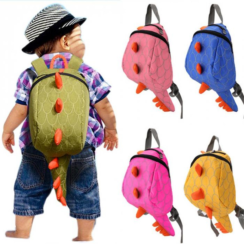 Kids Backpack Cotton Dinosaurs School Bags mochila infantil Cartoon Animals SchoolBag Gift For Kids Mochila Infantil Hot Sale