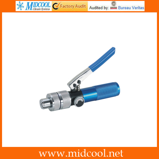 Expander VST-42B Hydraulic Expanding Brass Mouthpiece Expansion Refrigeration Repair Tool With Cutter 10-42MM hydraulic knockout tool hydraulic hole macking tool hydraulic punch tool syk 15 with the die range from 63mm to 114mm