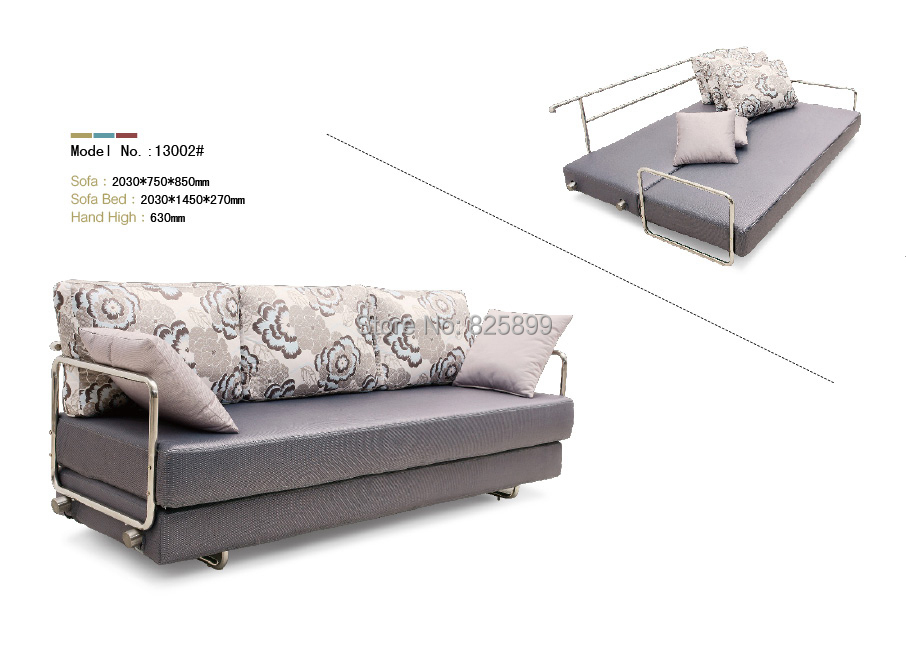 Metal Frame Sofa Bed Wrought Iron Folding Bunk In Living Room Sofas From Furniture On Aliexpress