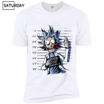 Rick and Morty - Mugshot Tee