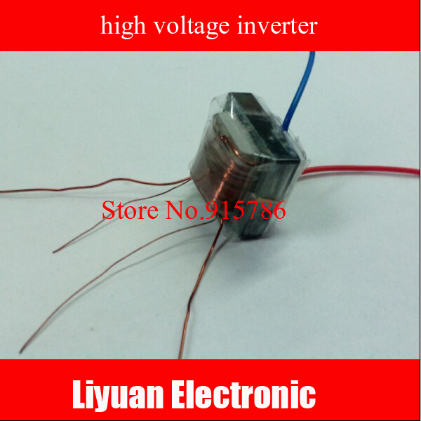 10KV high frequency high voltage transformer / booster coil inverter ...