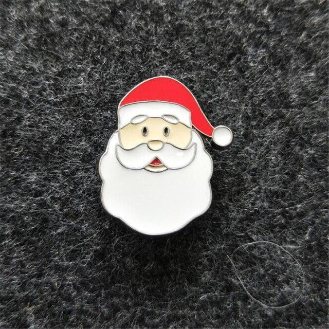 Брошка Дед Мороз сплав