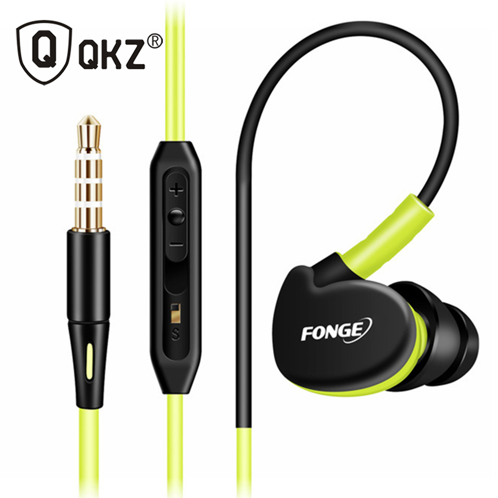 QKZ F1 Original Super Bass Clear Voice Earphone Metal Ear Headphone Mobile Computer MP3 Universal 3.5MM Headphone Amazing Sound