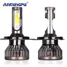 2 шт автомобисветодиодный светодиодные лампы h7 h4 h3 h1 светодиодный