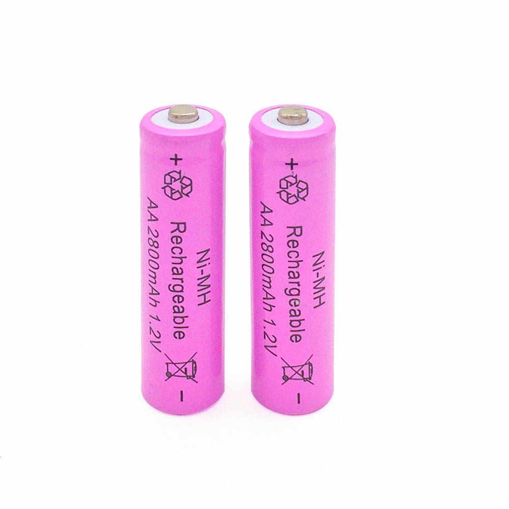 20 pcs AA 2800mAh Ni-MH Rechargeable Batteries + 20 pcs AAA 800mAh Rechargeable Batteries
