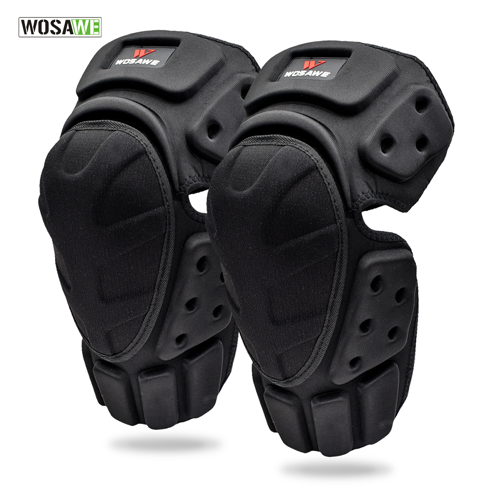 WOSAWE Adult Knee Elbow Pads Guards Braces Support Protection Sports Safety Skateboard Ski Motocross Motorcycle Knee Protector