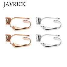 1 Pair Clip On Hoop Earring Converters No-pierced Turn Any Stud Into A Clip-On
