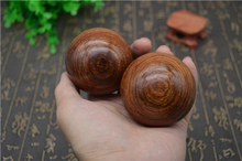 Leaf pear massage health ball 40, handball in 45, 50, 55, 60mm fitness ball rare hardwood