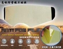 Il trasporto libero, moto casco integrale casco off road casco visor goggles anti-fog film, motocross flip up visiera anti fog pellicola