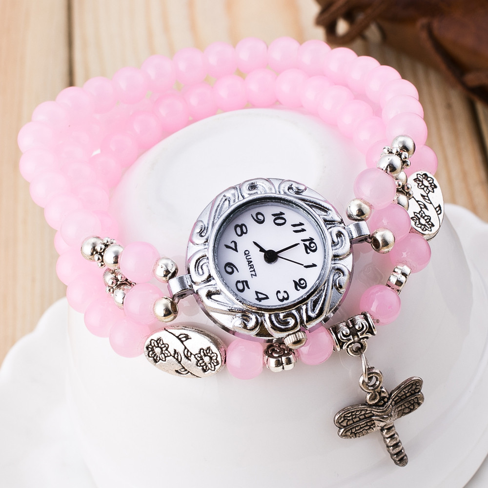 Special Gifts Popular Womens Watches high quality Fashion Cute Women Ladies Girls Quartz Bracelet Leather Wrist Watch Gift