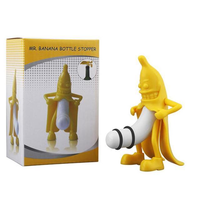 śmieszne Pan Korek Wina Nowością Bar Narzędzia Banana Banana