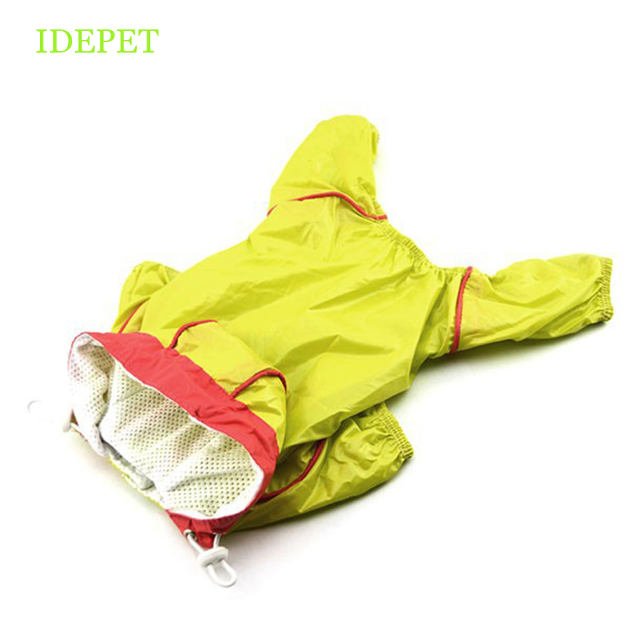 Недавно собака плащ Водонепроницаемый дождевик Одежда для собак прогулочная домашних животных дождливый носить Костюмы толстовка одежда ...