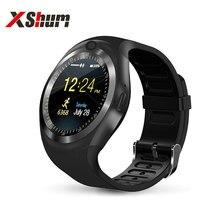 XShum смарт часы телефон Шагомер напоминание спорт для мужские смартчасы андроид IOS тип на наручные часы блютуз с сим картой TF смартфоны электронные смарт-часы