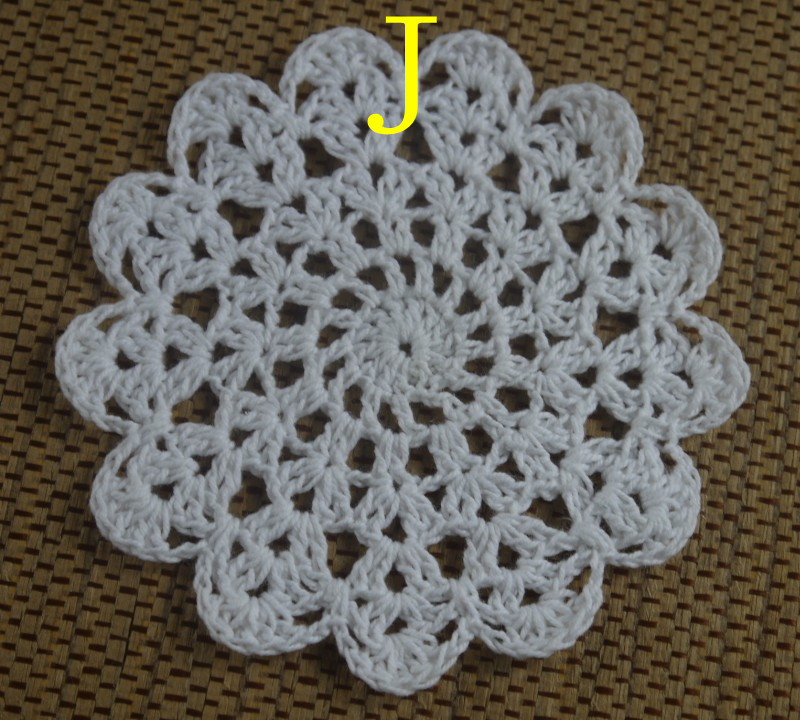 Free Shipping Wholesale Round Crochet Pattern Doily Hand Made