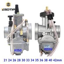 Zsdtrpユニバーサル21 24 26 28 30 32 33 34 35 36 38 40 42ミリメートルpwkオートバイキャブレターcarburador keihinこそatv powerジェット