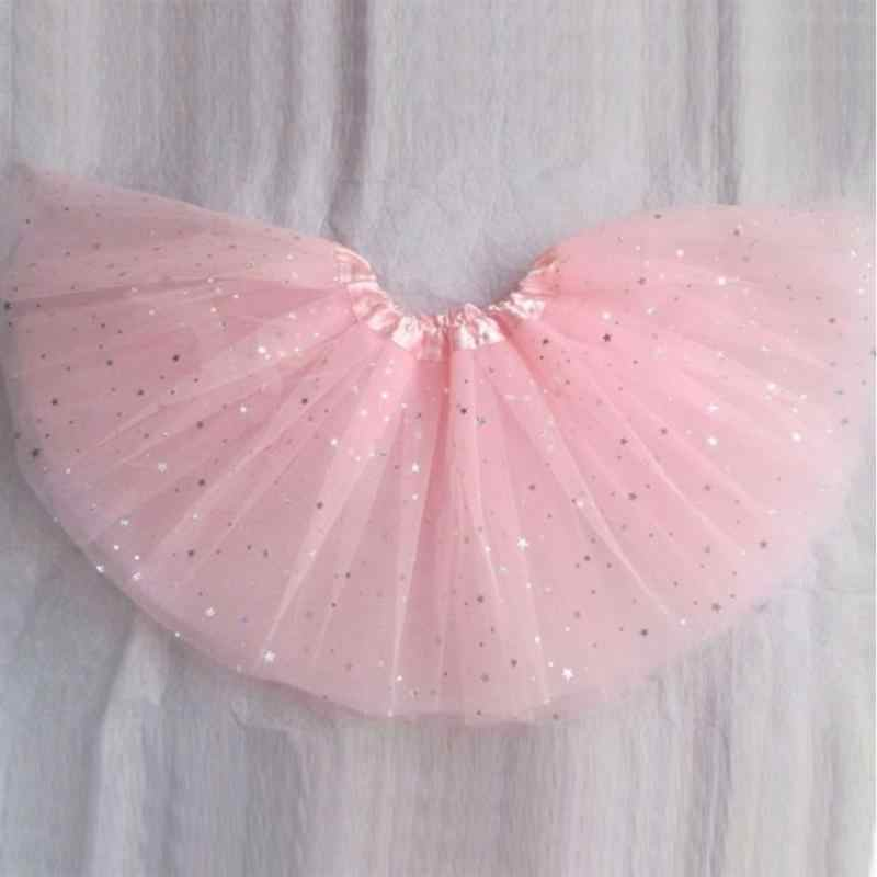 00f0dd227 Baby Girls Tutu Skirts Pettiskirt Kids Tulle Skirt Children Underskirt  Ballet Dance Petticoat Party Miniskirt Clothes