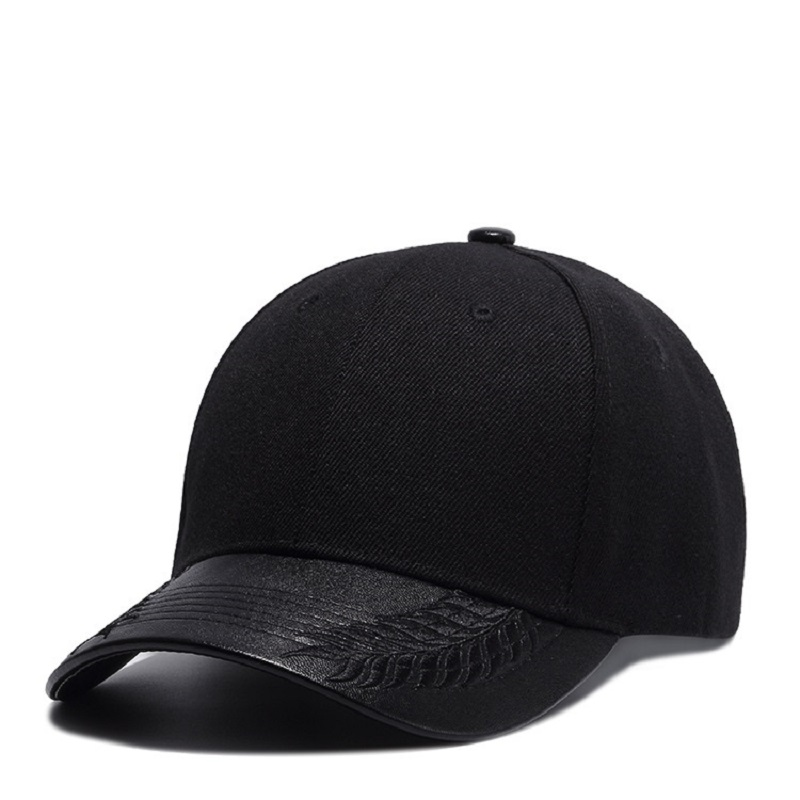 Brand UNIKEVOW PU visor Baseball Cap Unisex Outdoor Snapback Hat Sunscreen solid Caps Hip Hop hats for men & women fashion adjustable men women baseball cap solid hip hop snapback flat hat visor