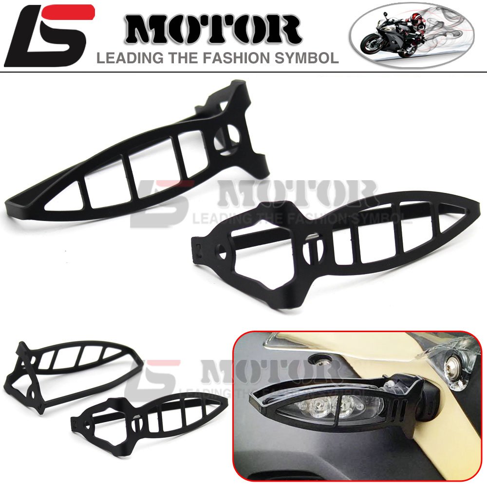 ФОТО Motorcycle LED Turn Signal Light Protection framework For BMW R1200GS F650 F800GS F800R F800S ADV