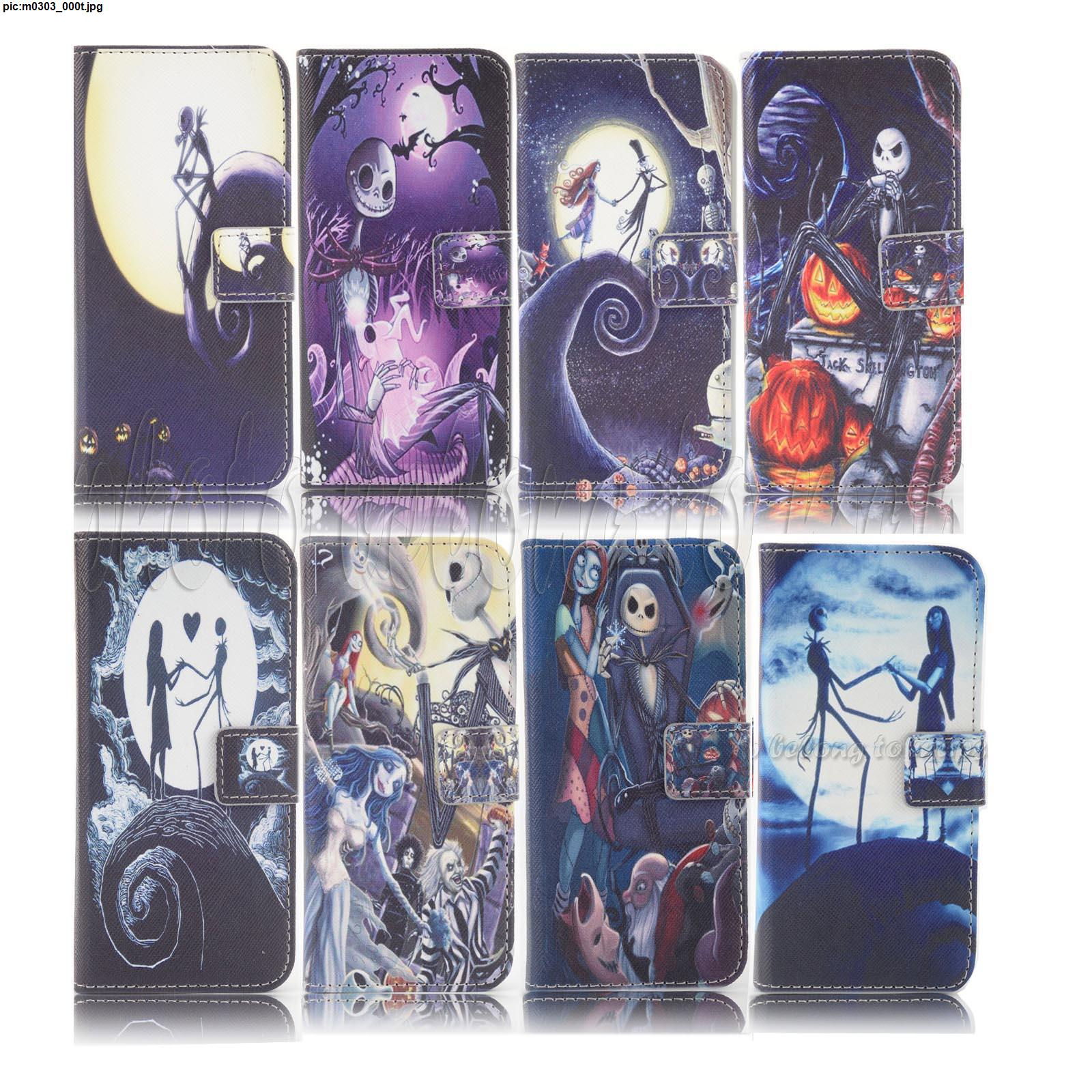 The Nightmare Before Christmas Wallet Leather case for iphone 6/6s ...