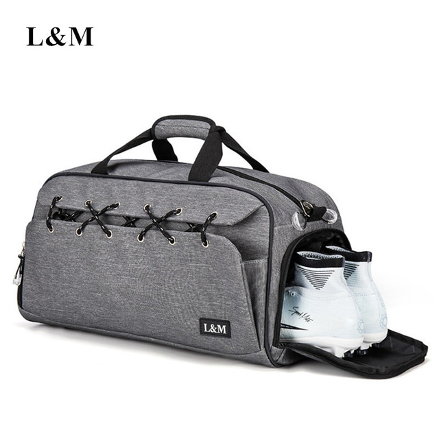 0ad22f0c03dc Multifunction Shoulder Sport Gym Bag for Shoes Storage Women Fitness Yoga  Training Bags Men s Gymnastic Handbag