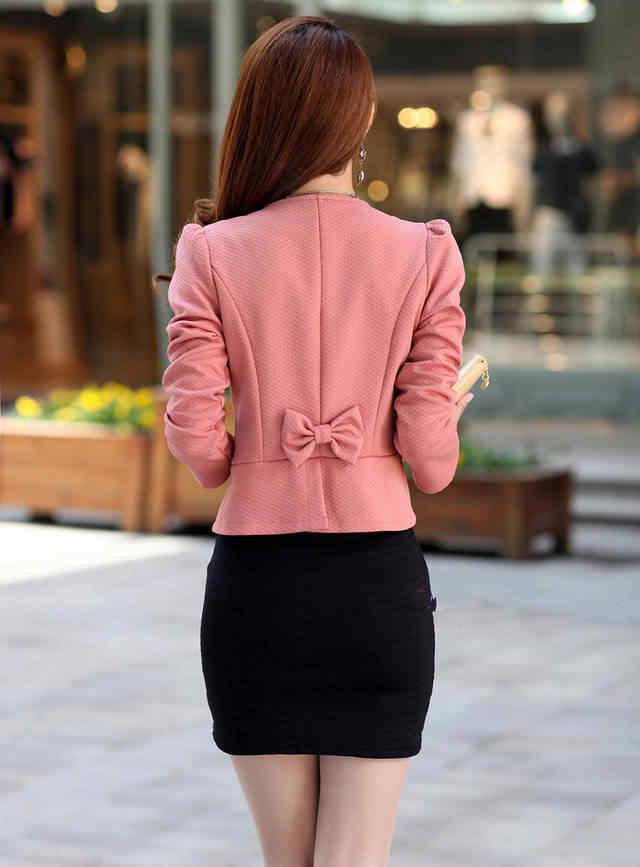 ブレザー女性は 2019 秋スリム女性のダブルブレストデザイン長袖カーディガンブレザー女性のジャケット女性のコート xy111
