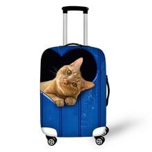 reisaccessoires Dikke elastische beschermhoes Zipper cover voor koffer Beschermende kofferhoesjes Voor 18-30 inch