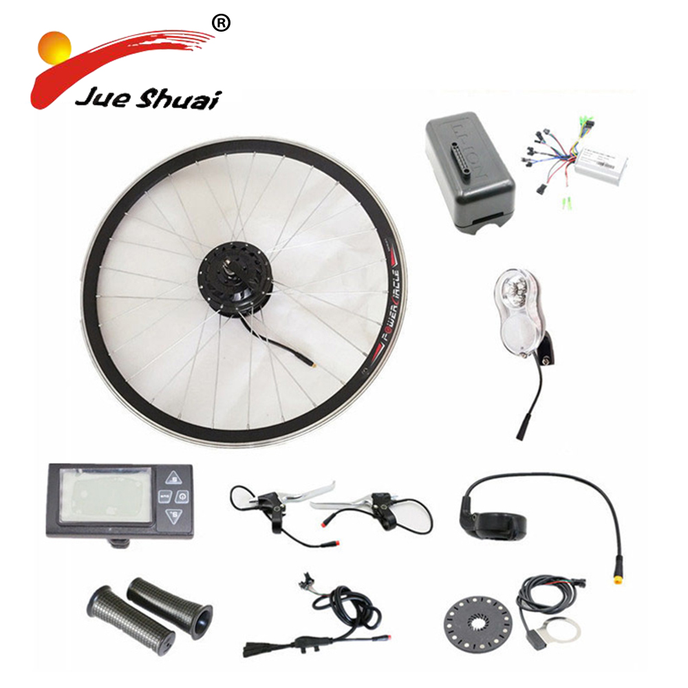 500W/350W/250W Motor LCD Displayer 48V Electric Bike Conversion Kit without Battery Ebicycle Kit 36V Optional free shipping 48v 15ah battery pack lithium ion motor bike electric 48v scooters with 30a bms 2a charger