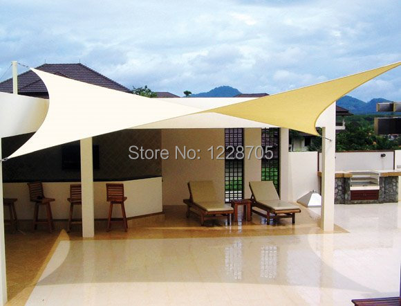 34fc2a8aeb4 10 ft by 13 ft rectangular sun shade UV proof shade sail net sun protect  cool 2015 summer fast shipping