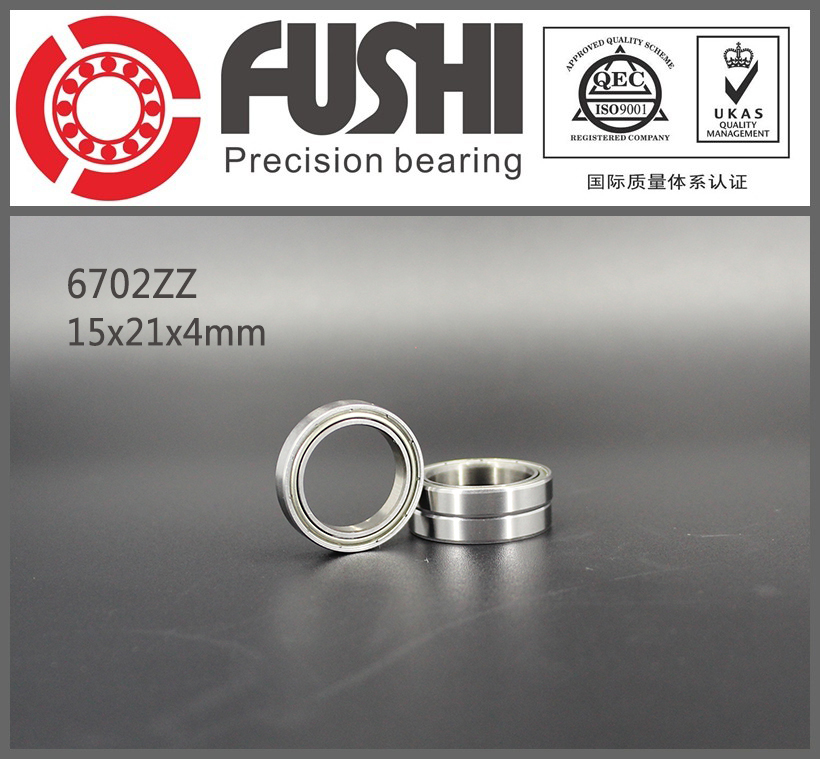 6702ZZ Bearing ABEC-1 ( 10PCS ) 15x21x4 mm Thin Section 6702 ZZ Ball Bearings 61702 ZZ 6702z gcr15 6326 zz or 6326 2rs 130x280x58mm high precision deep groove ball bearings abec 1 p0
