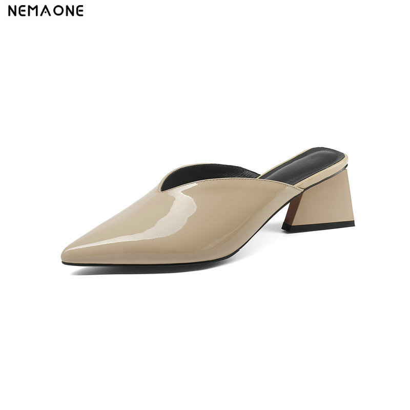 High Heels Women Shoes Pointed Toe Ladies slipper Summer Fashionable Party Prom Comfortable women shoes