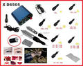 Complete Tattoo & Permanent Makeup Machine Kit Rotary Cosmetic Machine Gun Bracket Needles Power Supply
