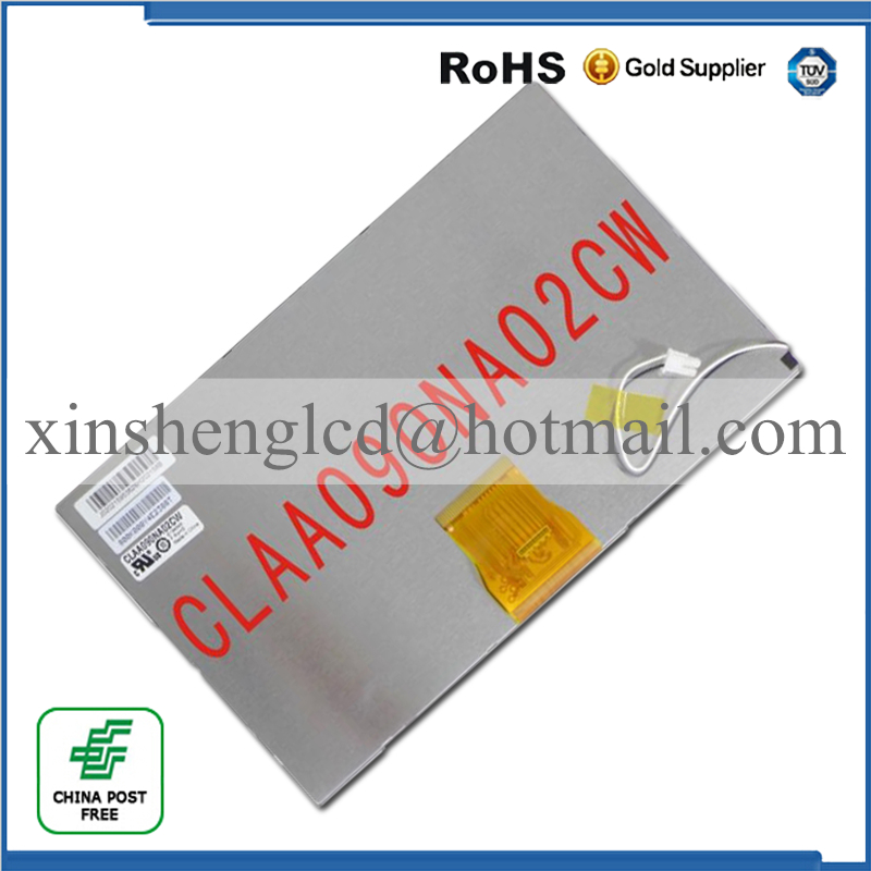 ФОТО 9 inch LCD CLAA090NA02CW for Car Navigation ,Tablet PC Display screen ,HD screen ,1024*600 free shipping